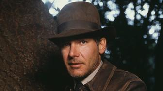 American actor Harrison Ford as Indiana Jones in a publicity still for the film 'Indiana Jones and the Last Crusade', 1989. (Photo by Terry O'Neill/Iconic Images/Getty Images)