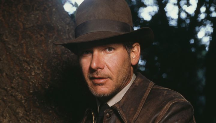 Harrison Ford as Indiana Jones in 1989.