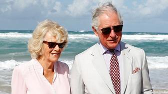 Britain's Prince Charles and Camilla, Duchess of Cornwall visit Broadbeach, Australia April 5, 2018.   REUTERS/Phil Noble