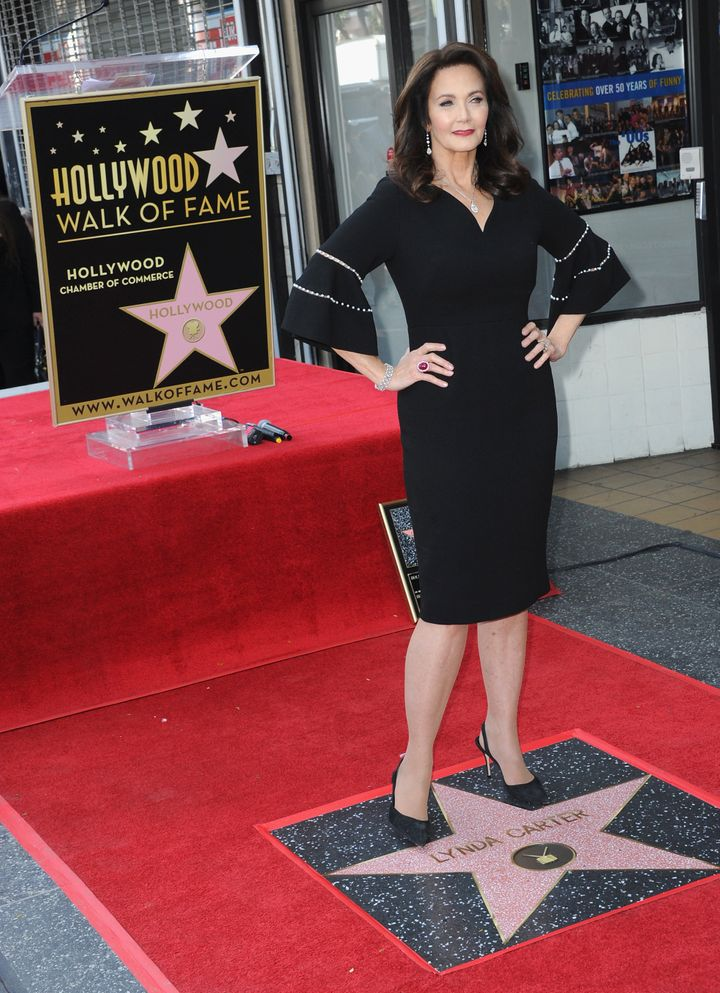 Carter honored with a star on the Hollywood Walk Of Fame on April 3, 2018.