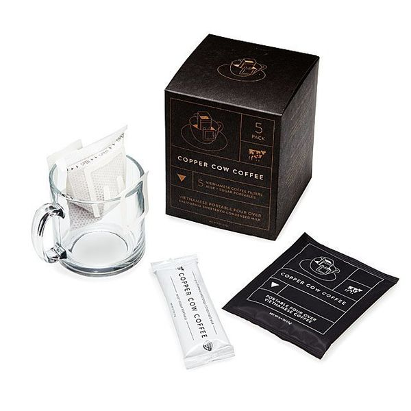 """Get it at <a href=""""https://www.uncommongoods.com/product/vietnamese-coffee-portable-pour-overs"""" target=""""_blank"""">Uncommon Good"""