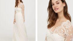 Cette robe de mariée H&M ressemble à s'y méprendre à celle de Kate Middleton (et coûte bien moins