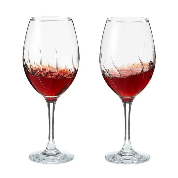 """Get it at <a href=""""https://www.uncommongoods.com/product/aerating-wine-glasses-set-of-2"""" target=""""_blank"""">Uncommon Goods</a> f"""