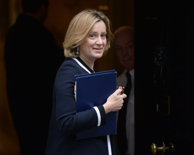 Amber Rudd has unveiled the government's new knife crime