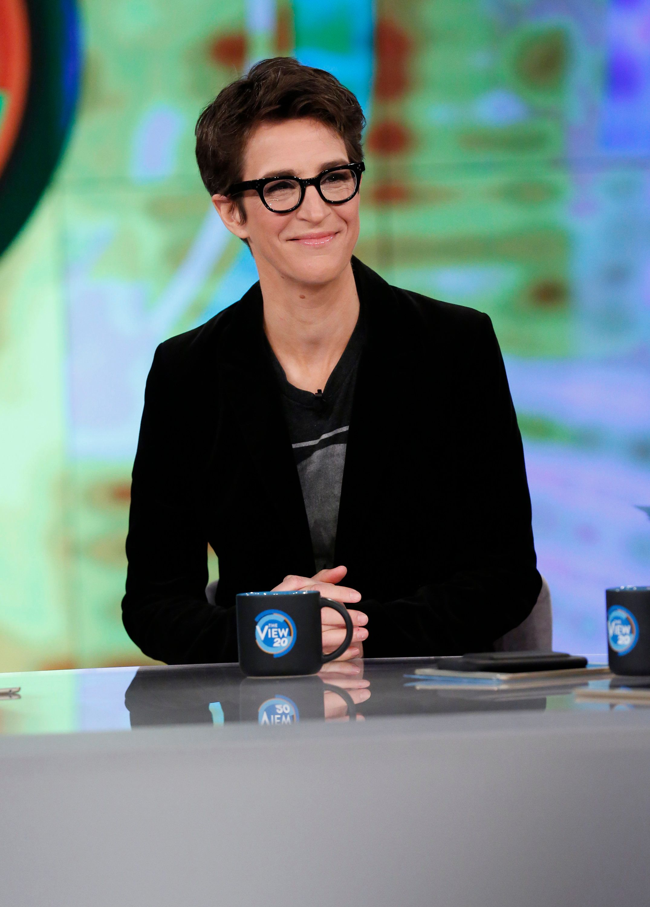THE VIEW - Rachel Maddow is the guest today, Wednesday, March 22, 2017 on ABC's 'The View.'   'The View' airs Monday-Friday (11:00 am-12:00 pm, ET) on the ABC Television Network.     (Photo by Heidi Gutman/ABC via Getty Images)  RACHEL MADDOW