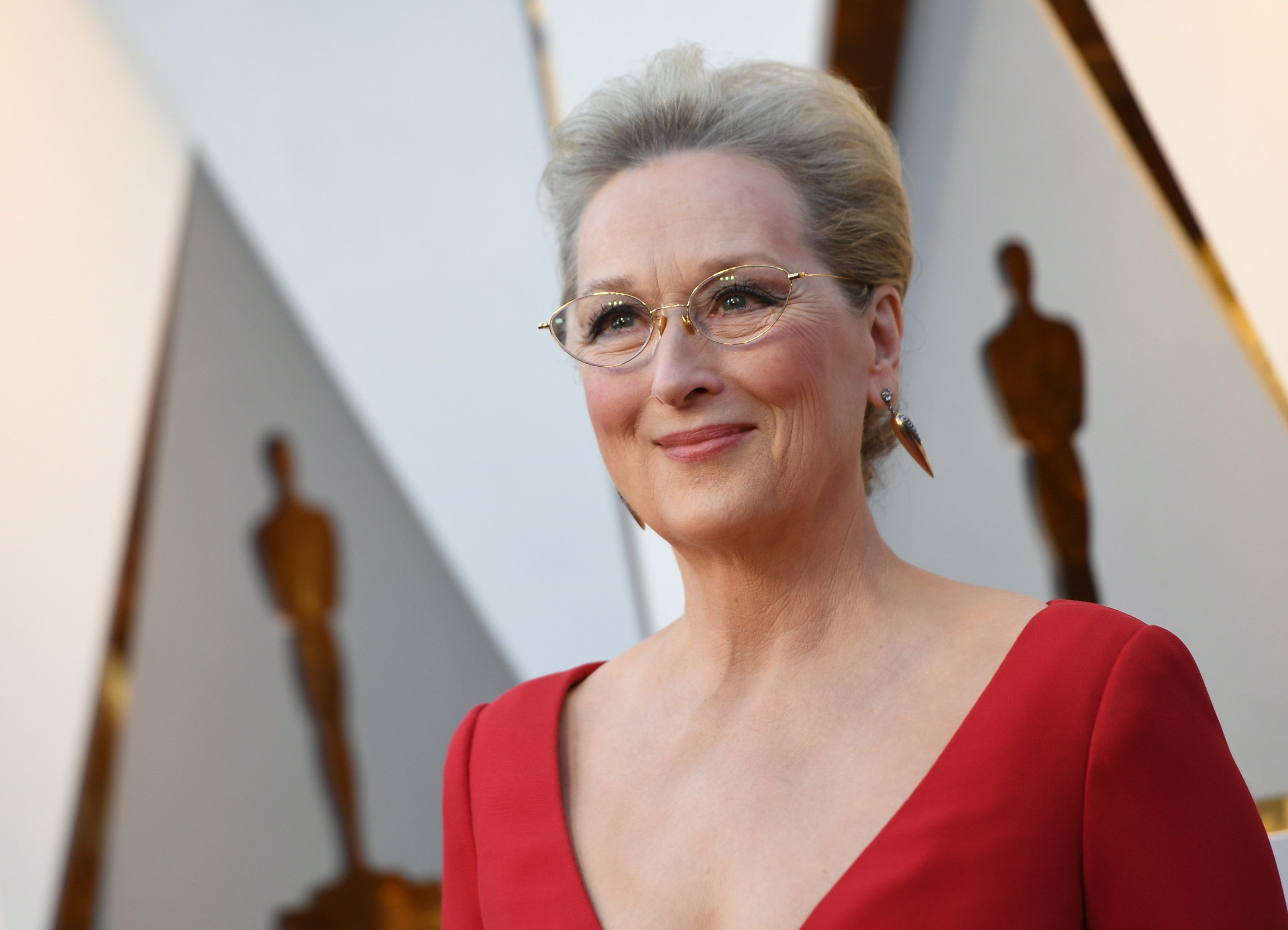 Actress Meryl Streep arrives for the 90th Annual Academy Awards on March 4, 2018, in Hollywood, California.  / AFP PHOTO / VALERIE MACON        (Photo credit should read VALERIE MACON/AFP/Getty Images)