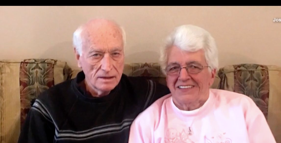 Harold Holland and Lillian Barnes are getting married again, about 50 years after they got divorced.
