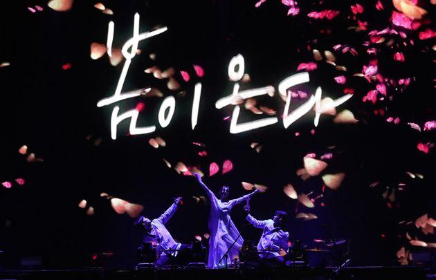 평양공연 '봄이 온다' 녹화 방송을 570만명이