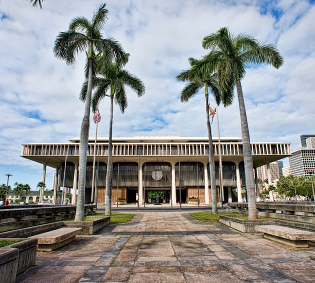 Hawaii State Capitol in