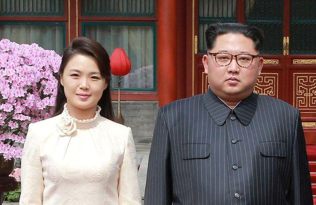 청와대가 김정은과 리설주에 대한 호칭을