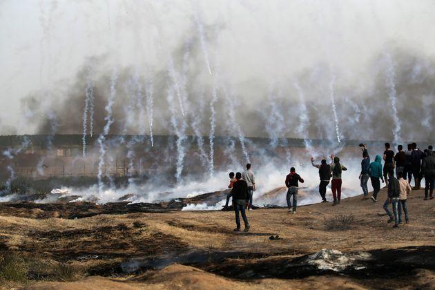 이스라엘은 가자에서 희망을 학살하려