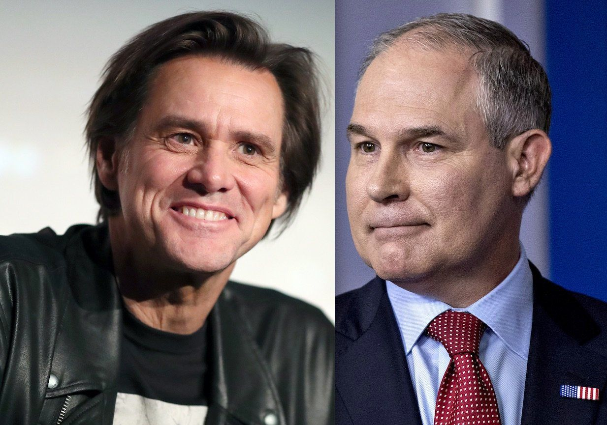 Jim Carrey Scott Pruitt