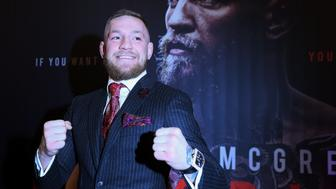 Conor McGregor attending the Conor McGregor: Notorious premiere at the Savoy Cinema in Dublin. (Photo by Brian Lawless/PA Images via Getty Images)