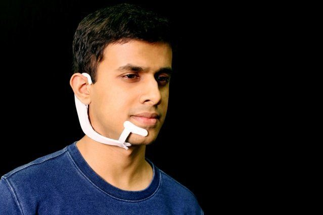 MIT's Wearable Headset Can Hear The Words You Say In Your