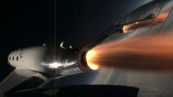 Watch Virgin Galactic's New Spaceship Go