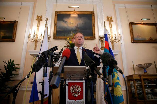Der russische Botschafter in