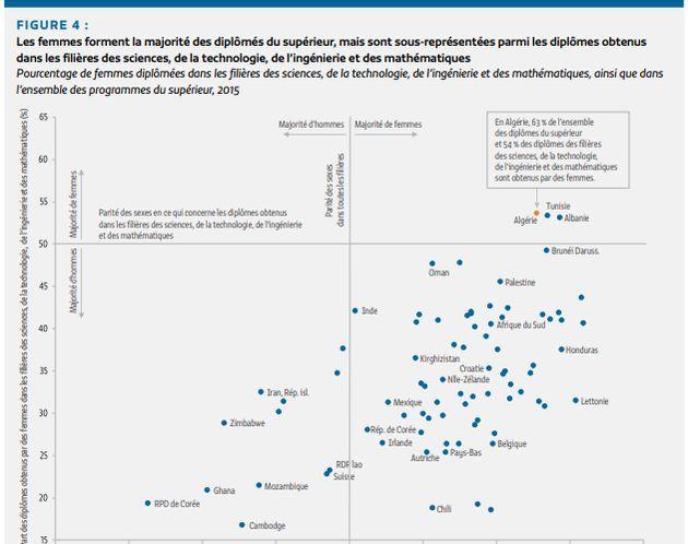 Les Algériennes plus diplômées que les garçons y compris dans les filières