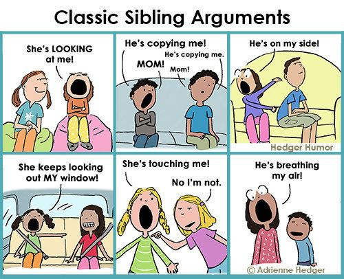 24 Hilarious Comics About Sibling Relationships