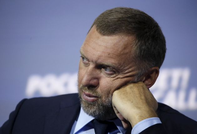 The action freezes the US assets of 'oligarchs' such as aluminum tycoon Oleg Deripaska, a close associate...