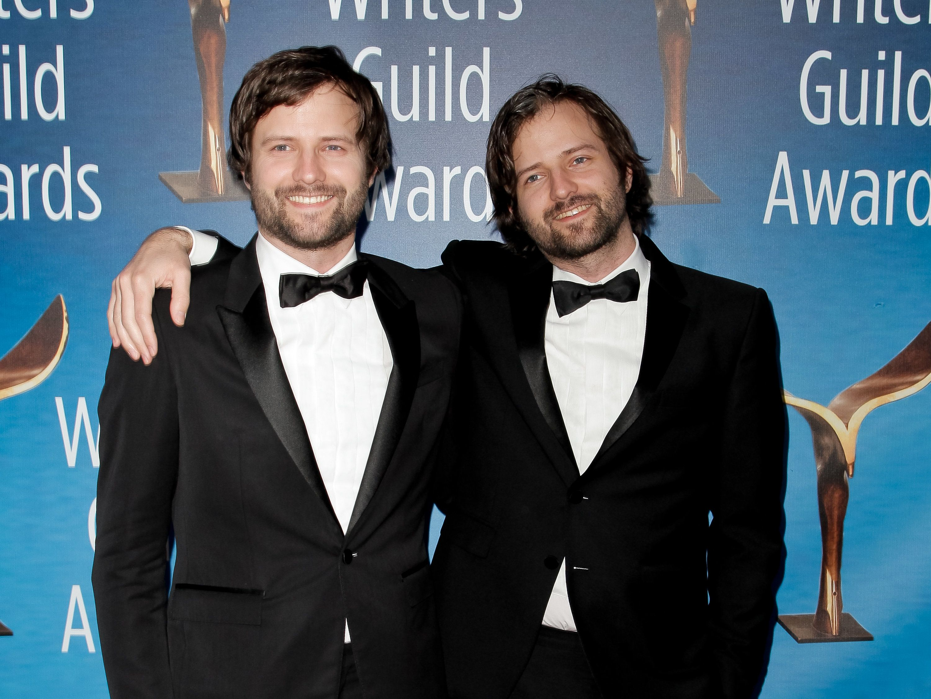 BEVERLY HILLS, CA - FEBRUARY 19:  The Duffer Brothers, Matt Duffer and Ross Duffer attend the 2017 Writers Guild Awards L.A. Ceremony at The Beverly Hilton Hotel on February 19, 2017 in Beverly Hills, California.  (Photo by Tibrina Hobson/Getty Images)