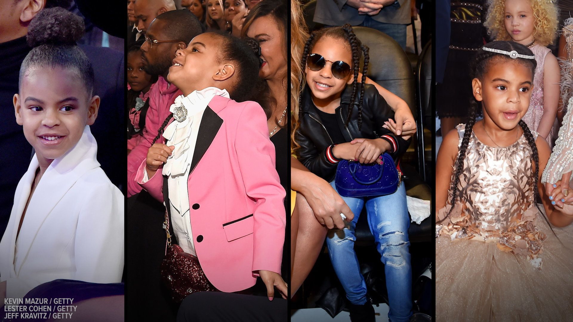 Blue Ivy is only six years old but already has a stylist and personal shopper