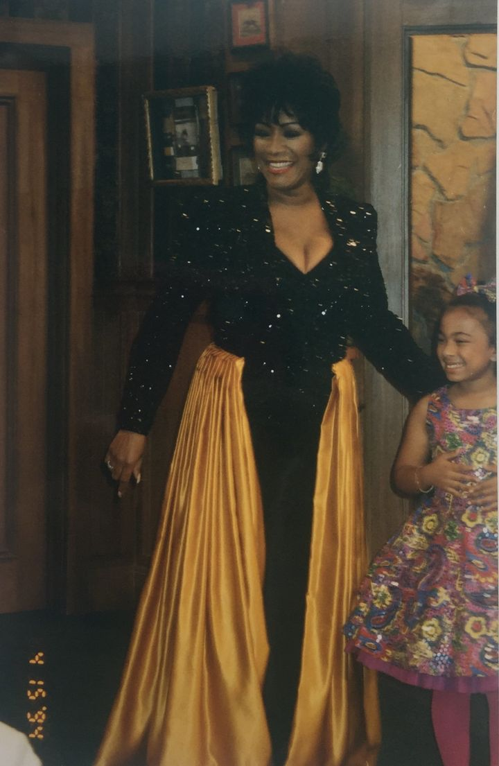 """This is one of my favorite guest star outfits. Disco Queen Patti LaBelle. I pieced and re-designed the outfit using four pie"