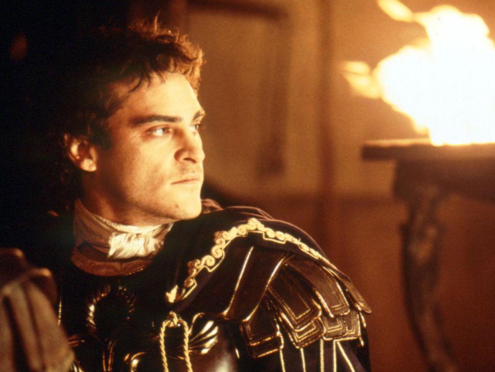 "Joaquin Phoenix in ""Gladiator."""