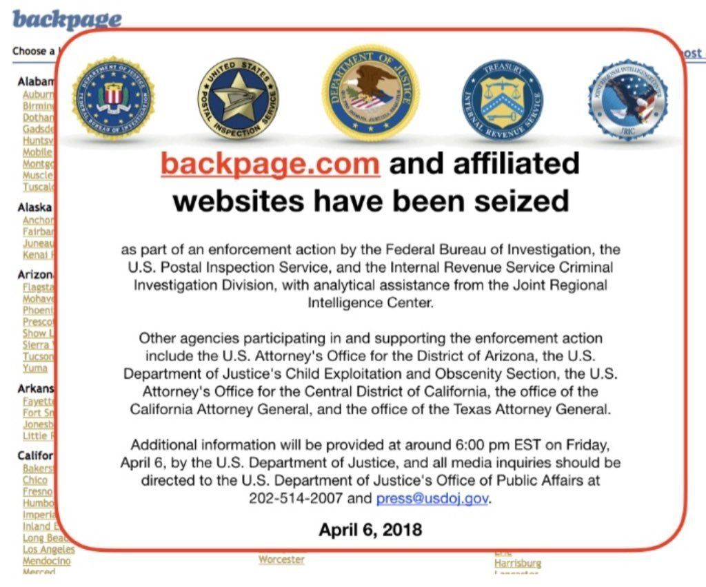 Backpage.com Founders Indicted For Facilitating Prostitution On