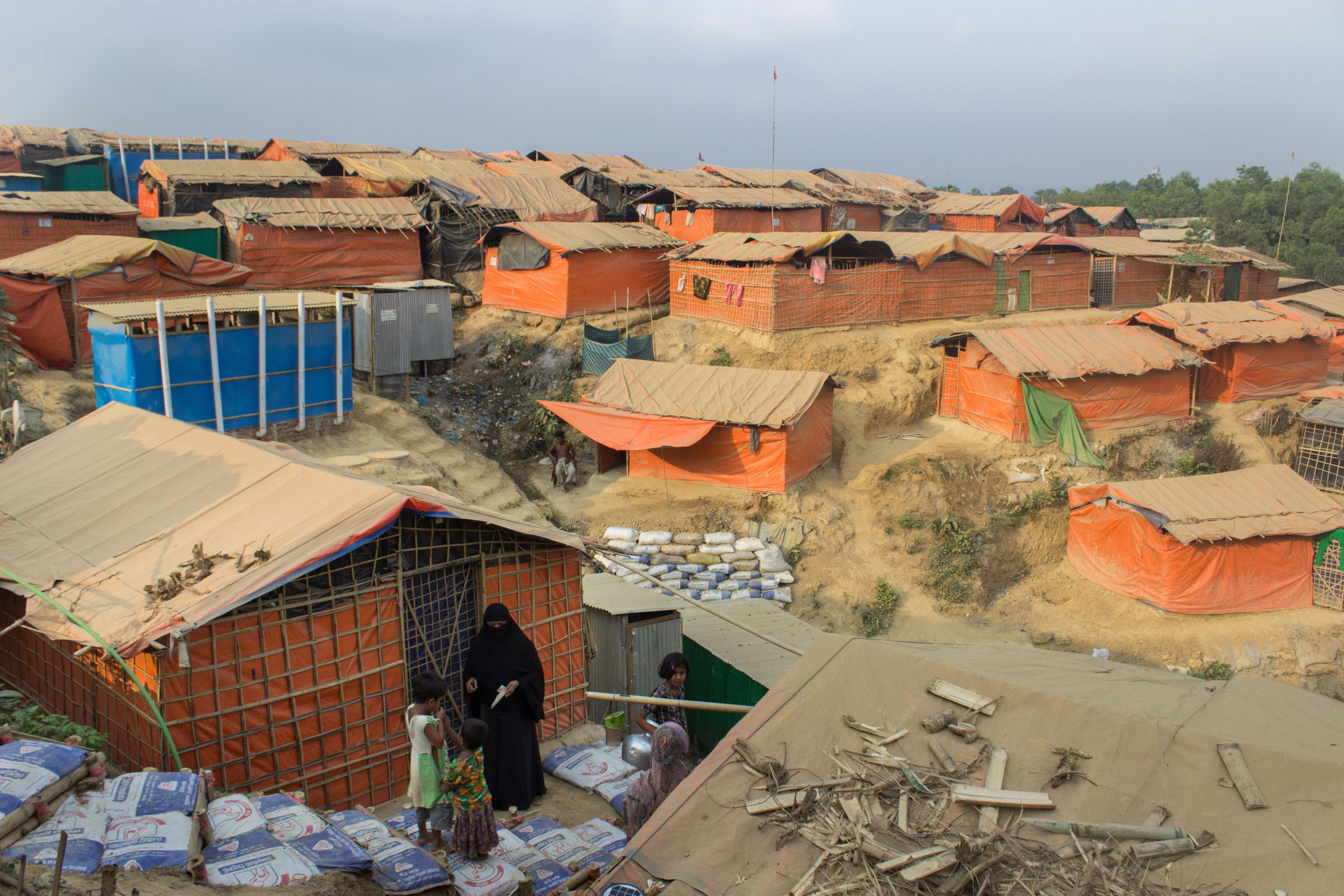 Kutupalong refugee camp, pictured in March, is the largest and oldest in southeastern Bangladesh.