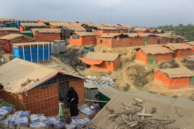 Kutupalong refugee camp, pictured in March, isthe largest and oldest insoutheastern