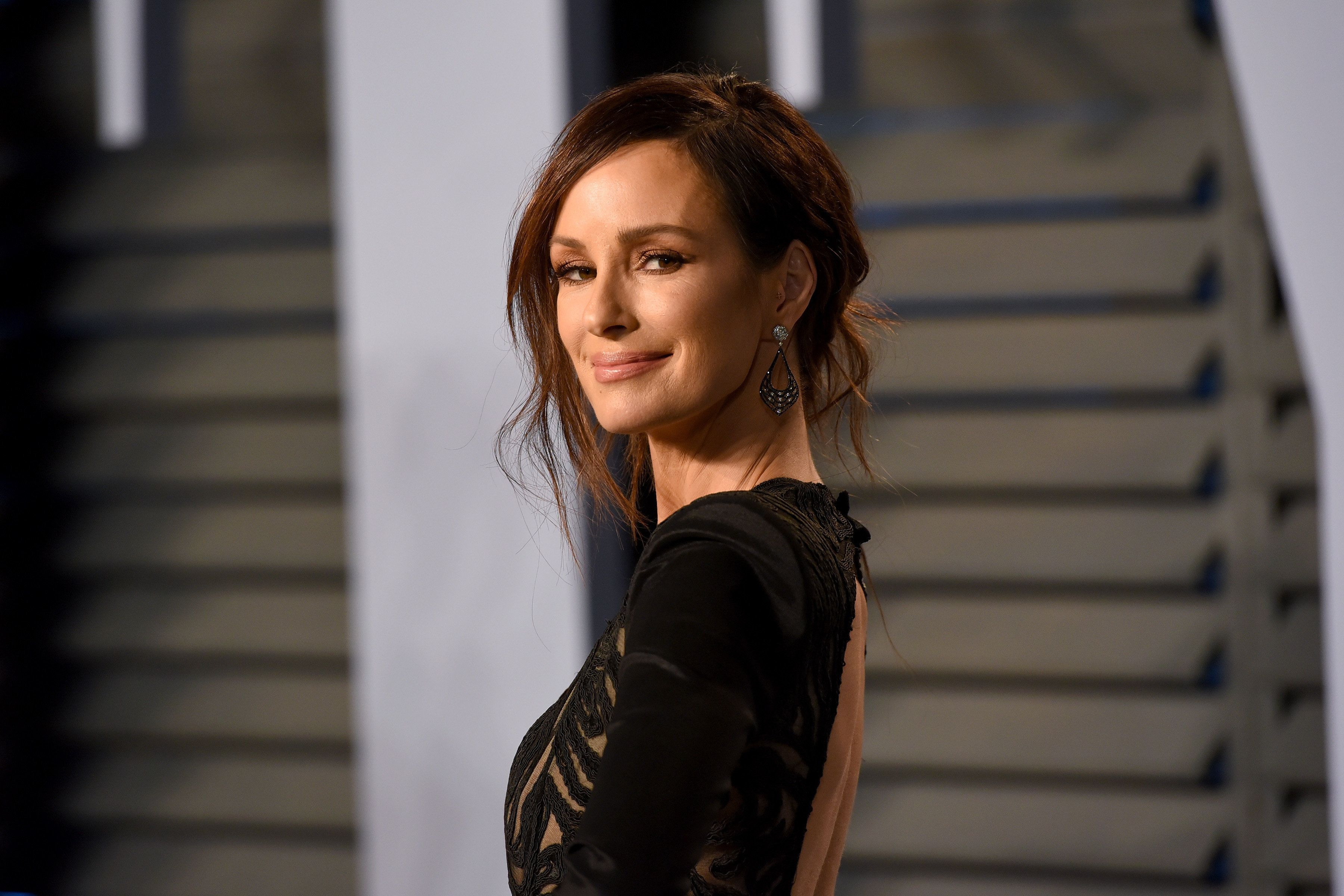 Catt Sadler has become an advocate for equal pay. Here, she attends the 2018 Vanity Fair Oscar Party on March 4, 2018, in Bev