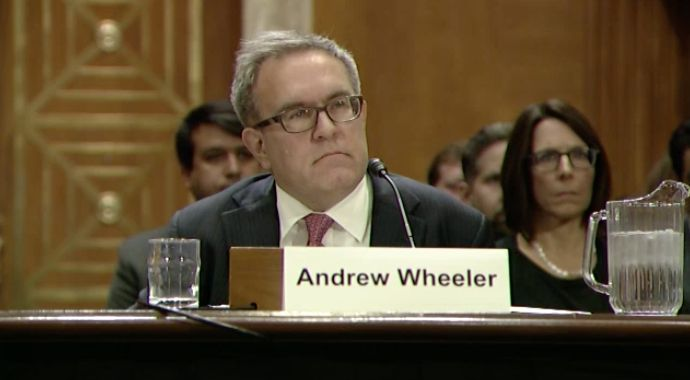 Andrew Wheeler has been nominated to serve as deputy administrator of the Environmental Protection Agency.