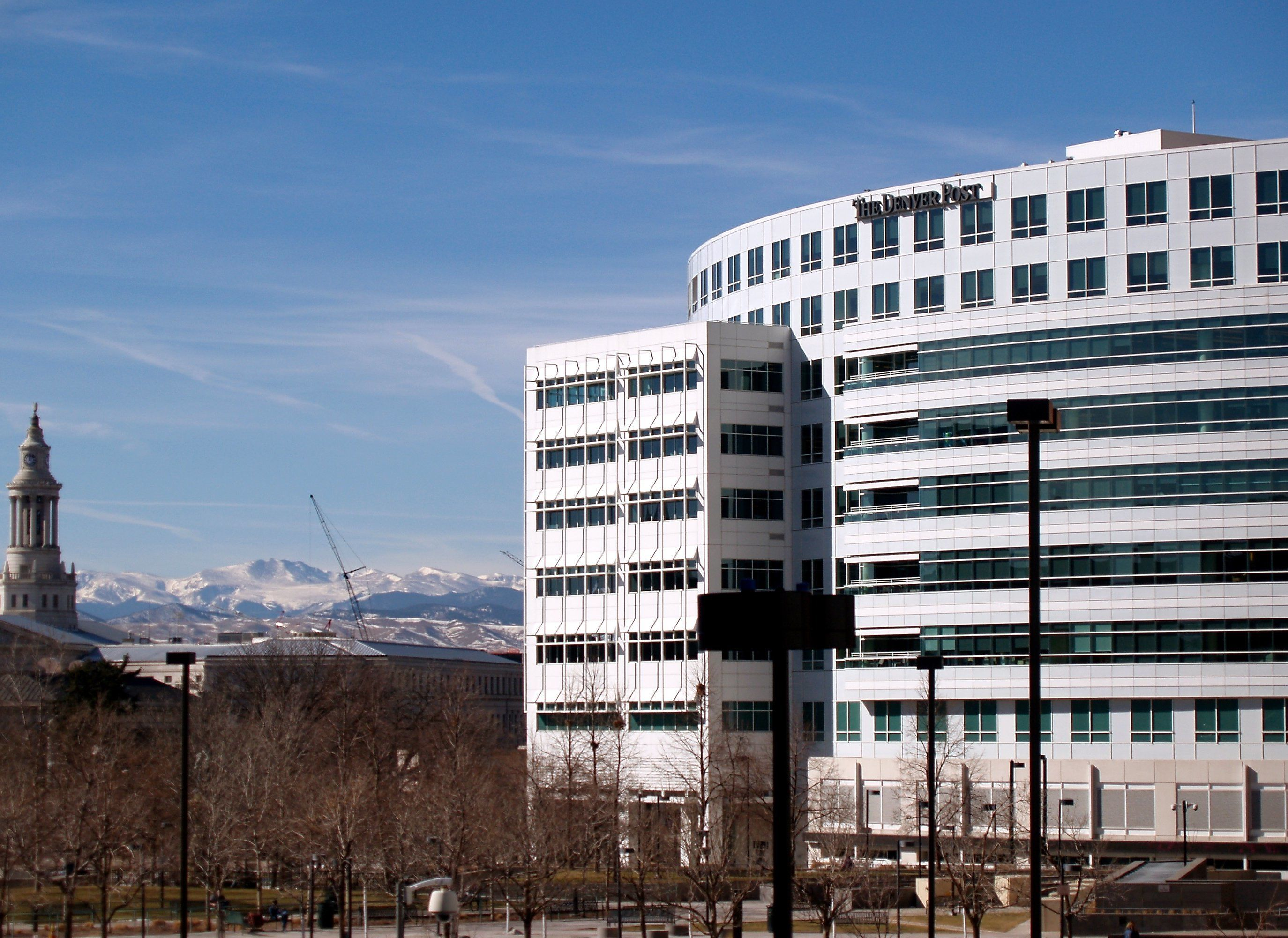 As a cost-cutting measure, The Denver Post movedits decimated news operation out ofits old building earlier this