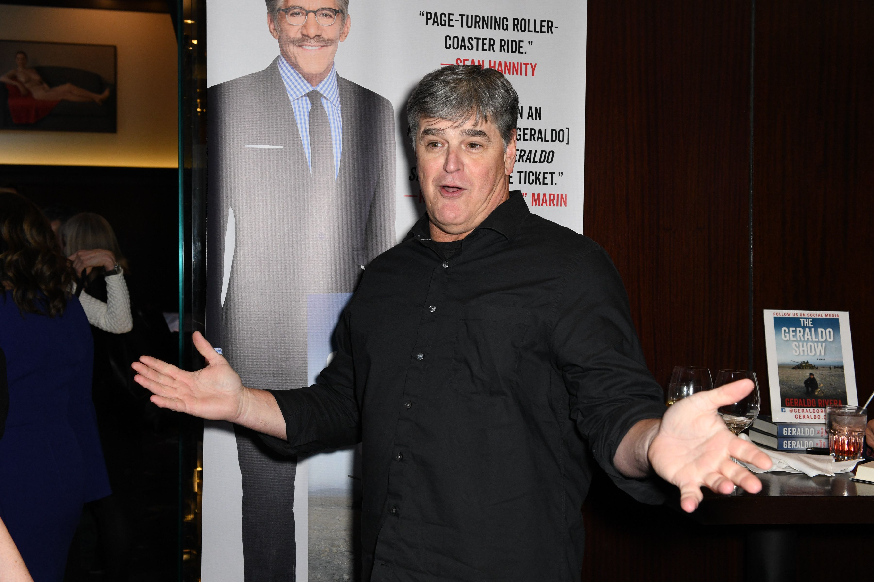 The Shawn hannity is an asshole all does