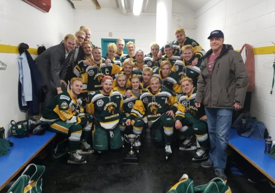 Members of Saskatchewan's Humboldt Broncos, seen here in a photo posted to Twitter, were aboard the bus when authorities