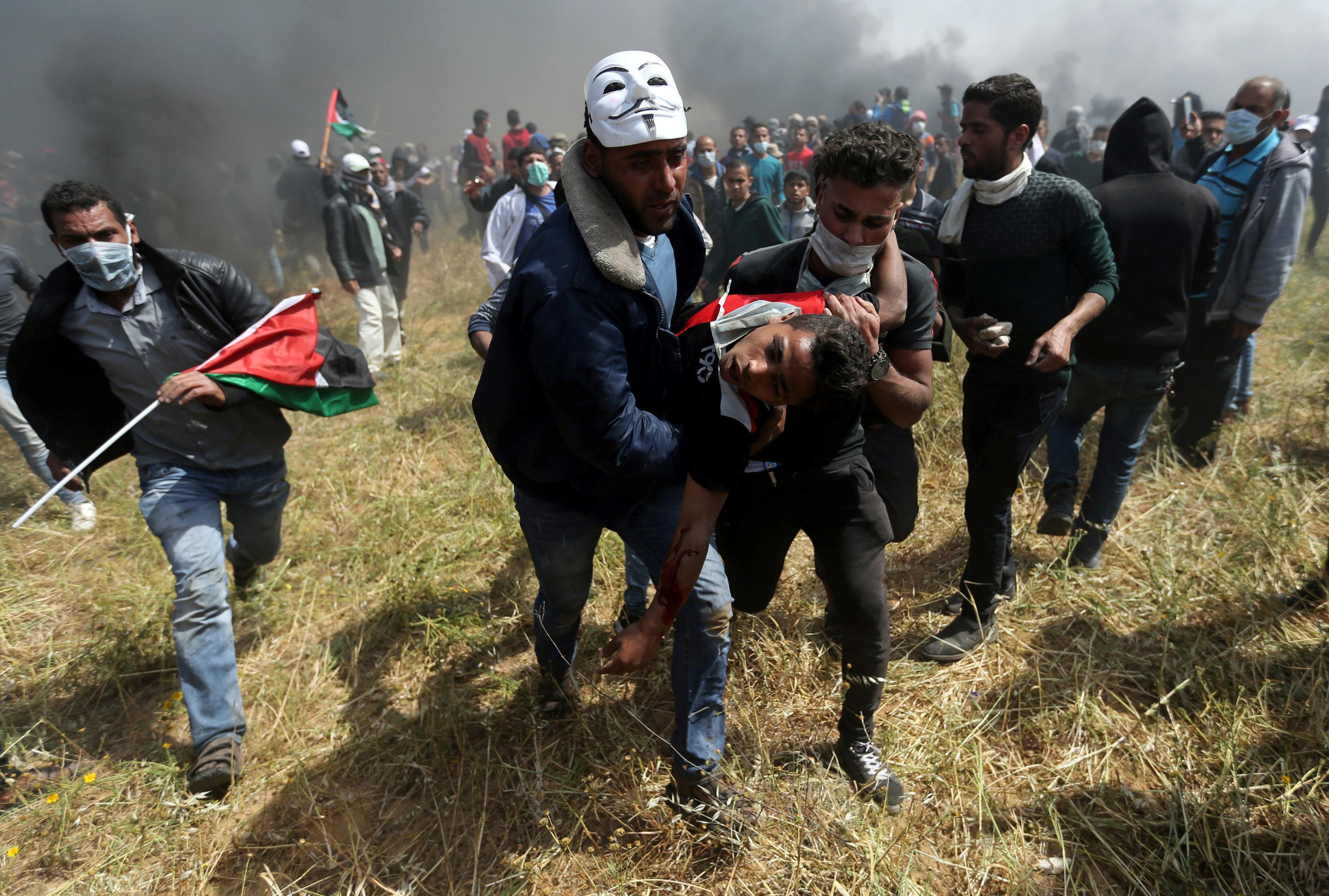 8 Palestiniens tués par Israël et plus de 400 blessés, Washington s'oppose à une saisie de