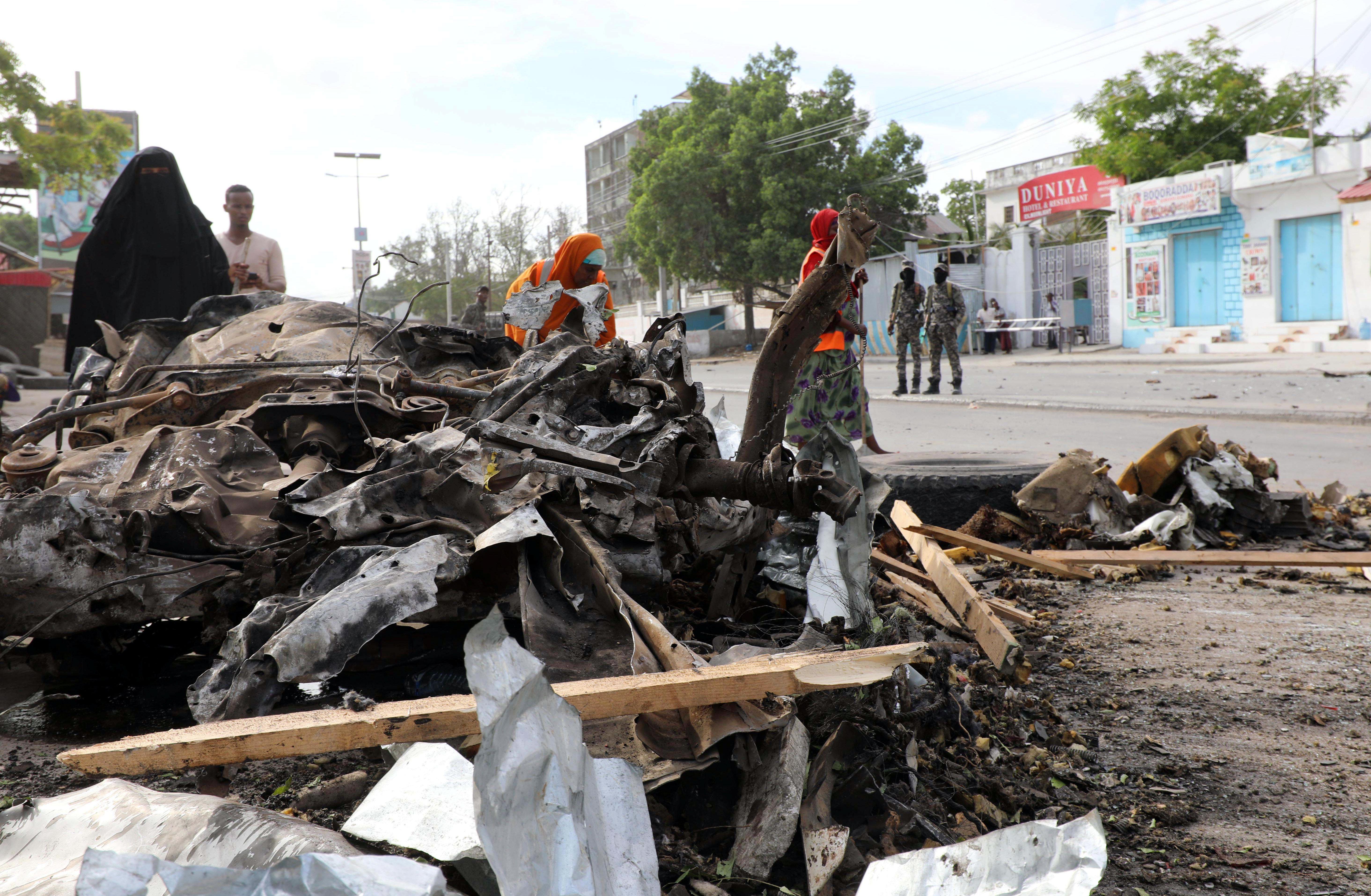 Σομαλία: Επτά νεκροί σε δύο βομβιστικές επιθέσεις στη