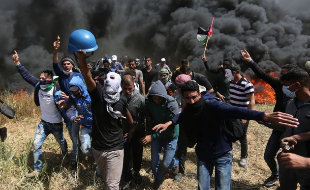 Sept morts et des centaines de blessés lors de manifestations à la frontière entre la bande de Gaza et