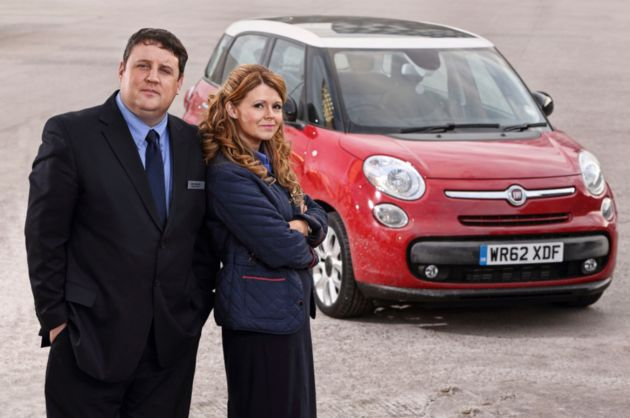 Peter Kay makes surprise return at charity Car Share screening in Blackpool