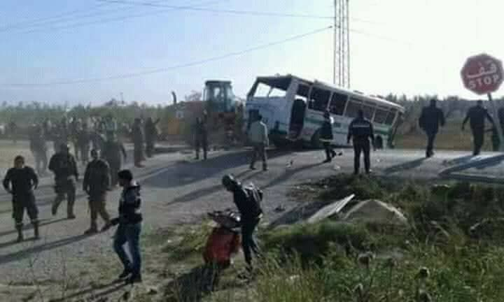 Deux morts et 65 blessées dans un accident de bus transportant des ouvrières à Monastir