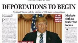 Unheimliche Vorhersage: Zeitung wusste schon 2016 exakt, was Trump heute