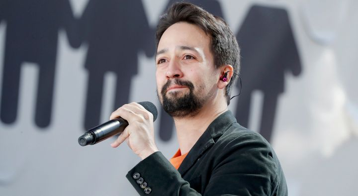 Lin-Manuel Miranda was less than pleased with the situation at summer camp as a kid.