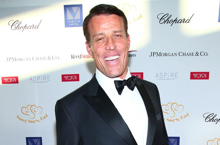 Tony Robbins made a name for himself in the '80s and '90s with a series of self-help books.