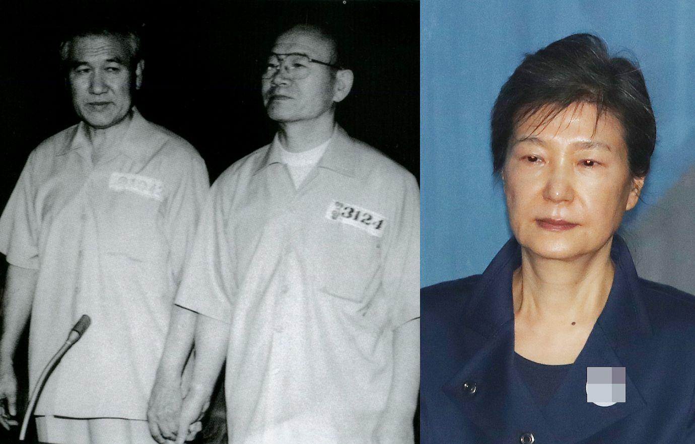 박근혜가 전두환·노태우처럼 사면을 받을 가능성