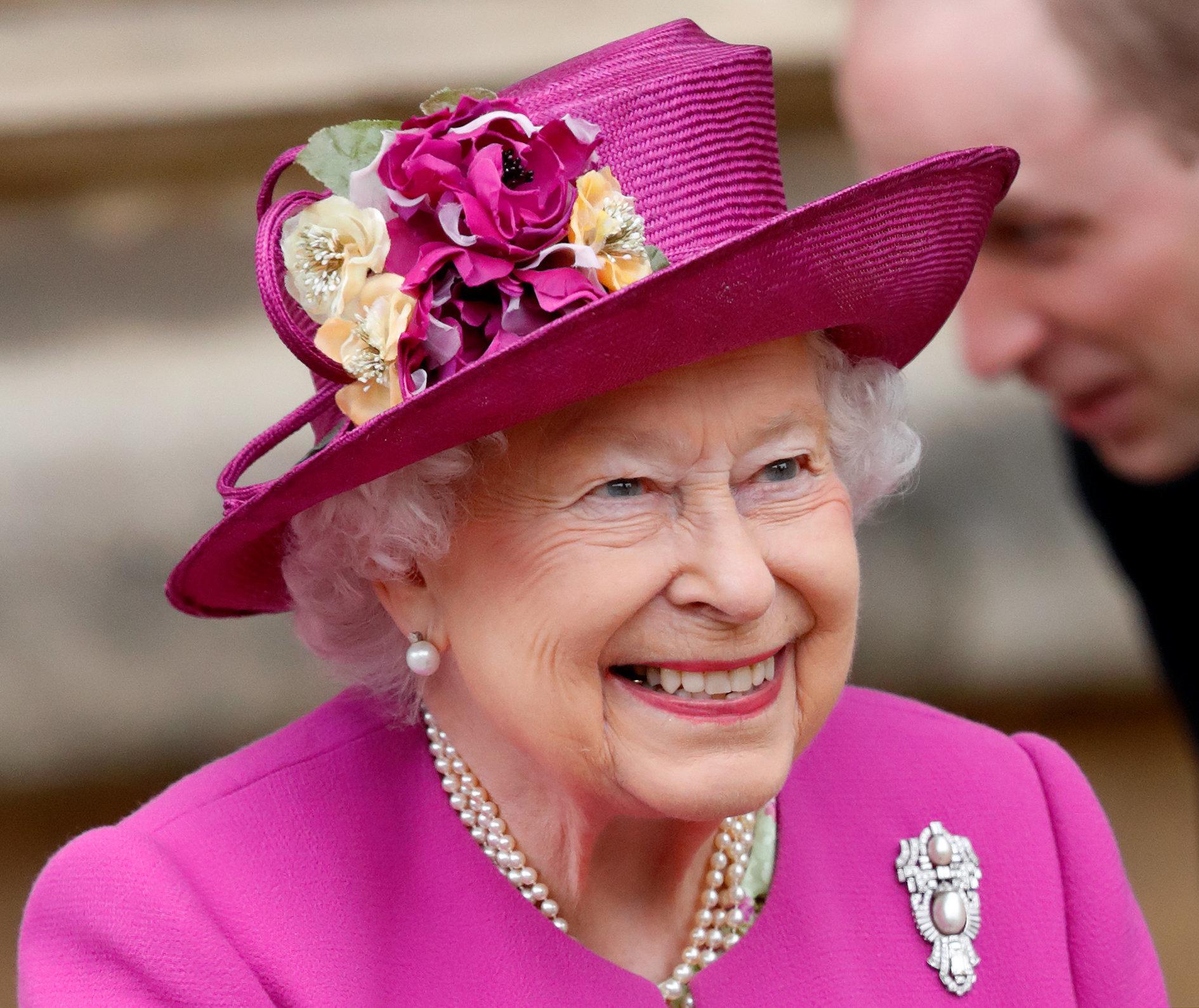 Königin Elisabeth II. macht Witz über Donald Trump