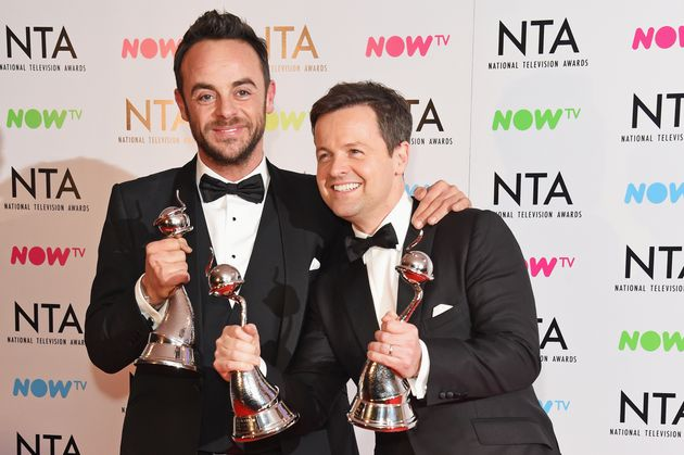 Ant and Dec at January's