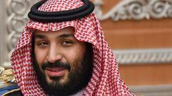 Le puissant prince héritier saoudien MBS arrive en