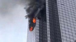 Un mort et cinq blessés dans un incendie à la Trump