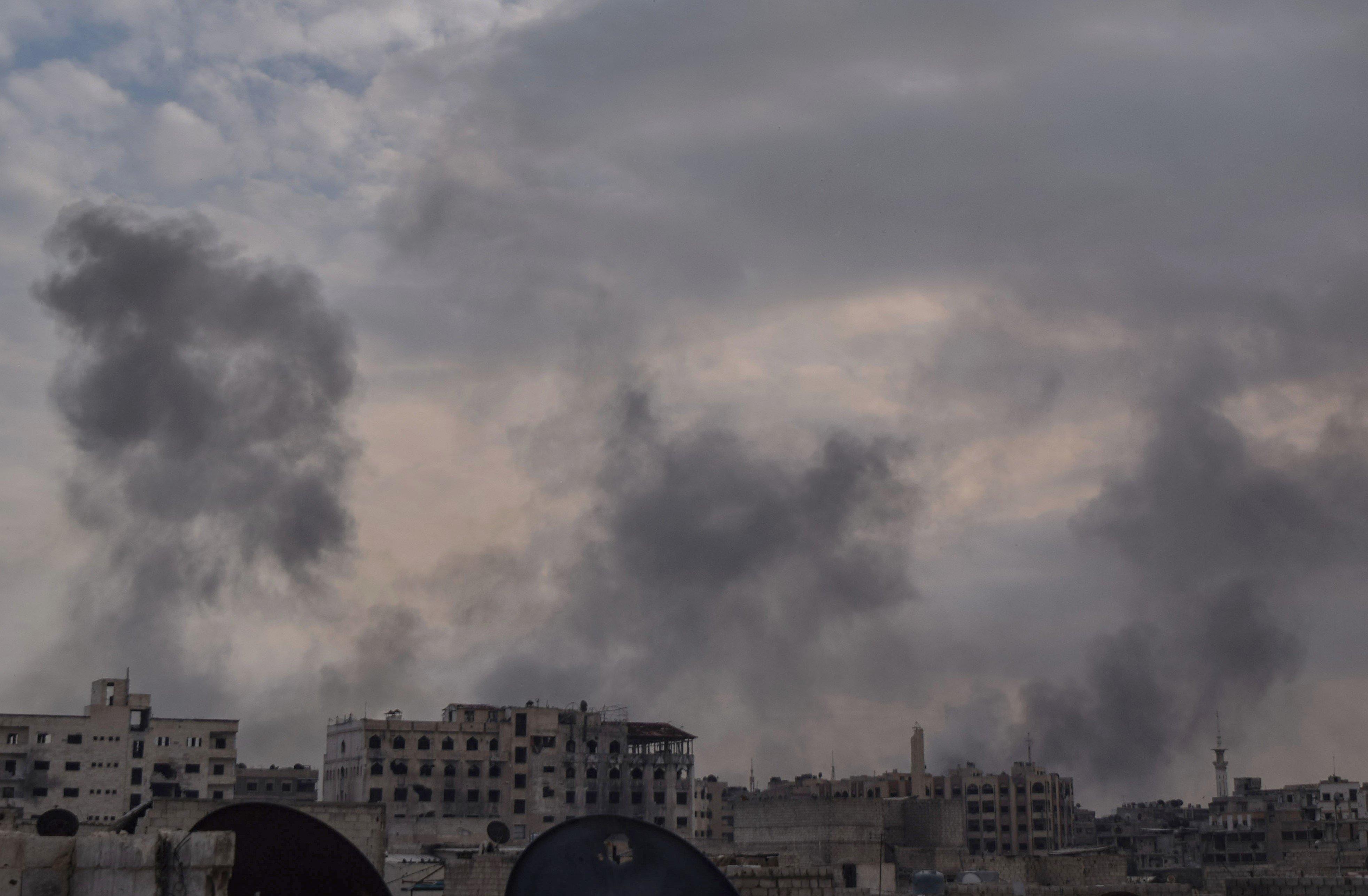 La Russie affirme que le régime syrien n'a pas employé d'armes chimiques à