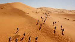 Coup d'envoi de la 33ème édition du Marathon des sables